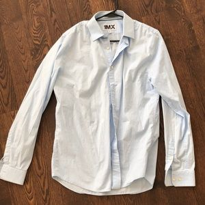 Mens Fitted Dress Shirt